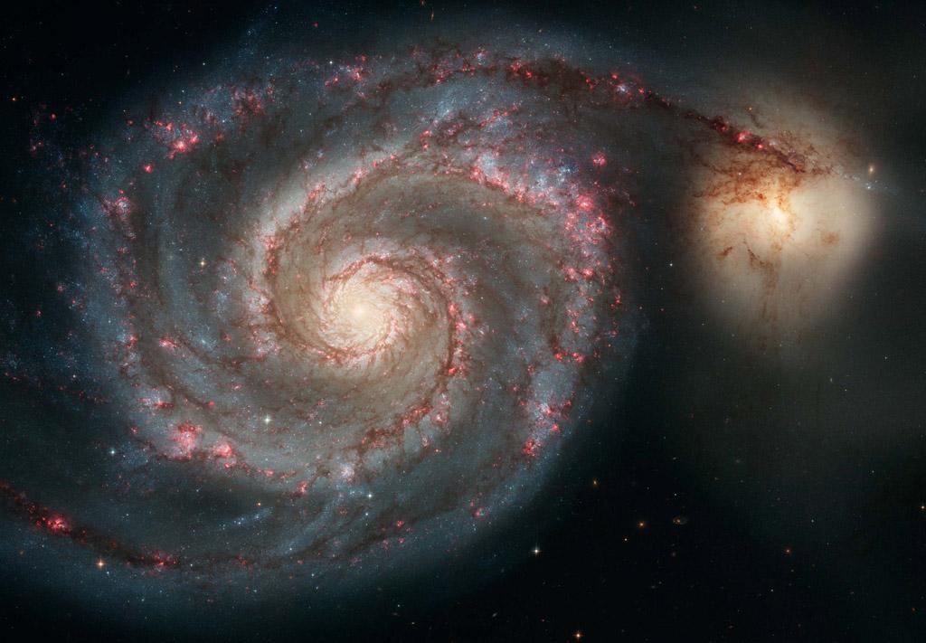 Галактика M51