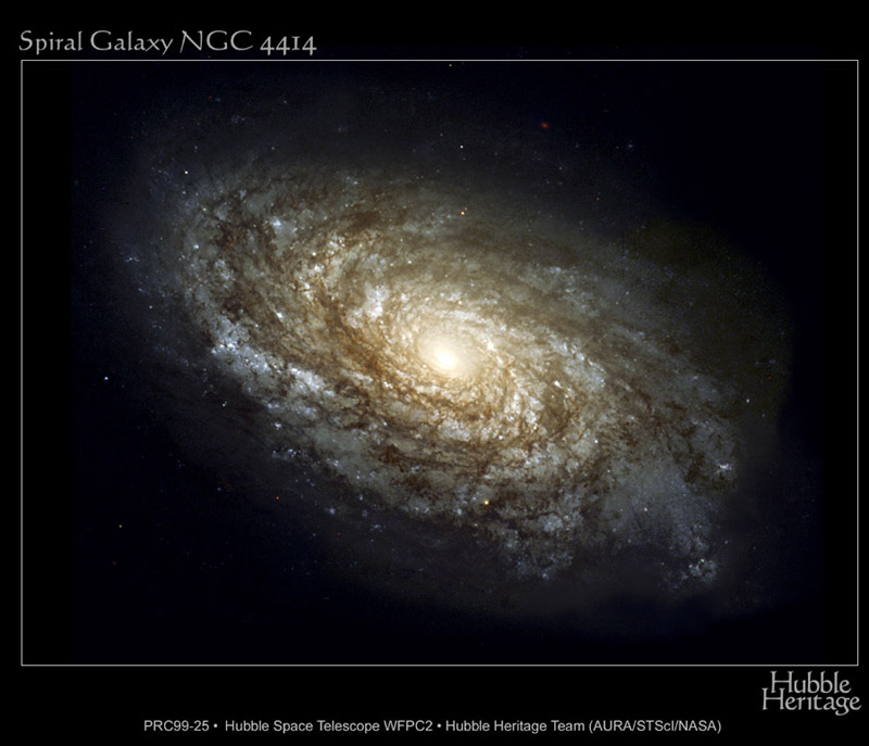 Спираловидна Галактика NGC 4414