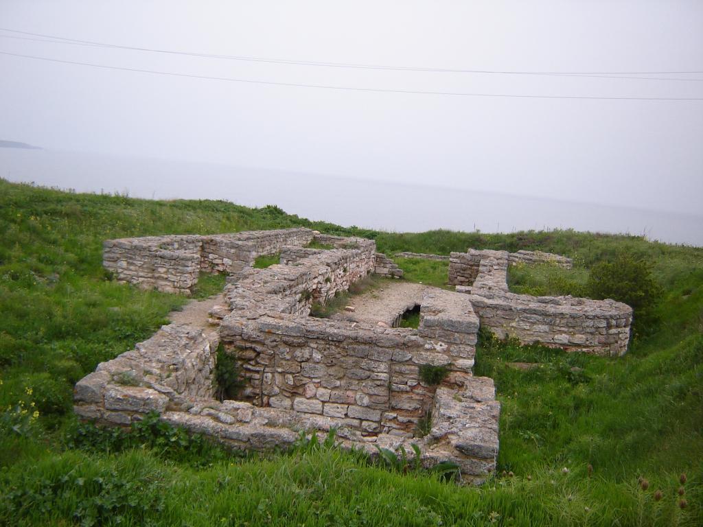 Руини в Калиакра