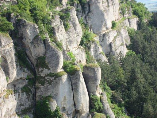 Мадарските скални форми