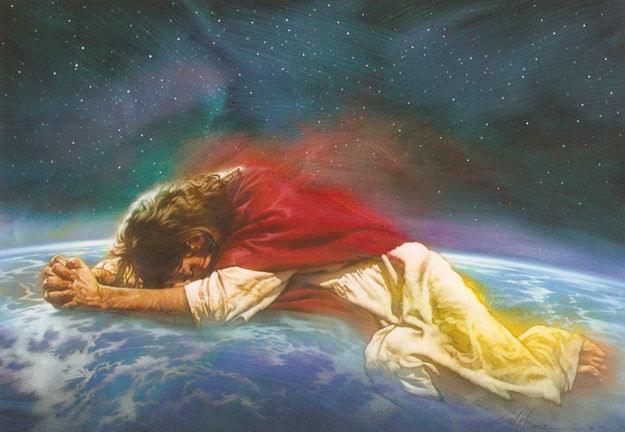 Христос се моли
