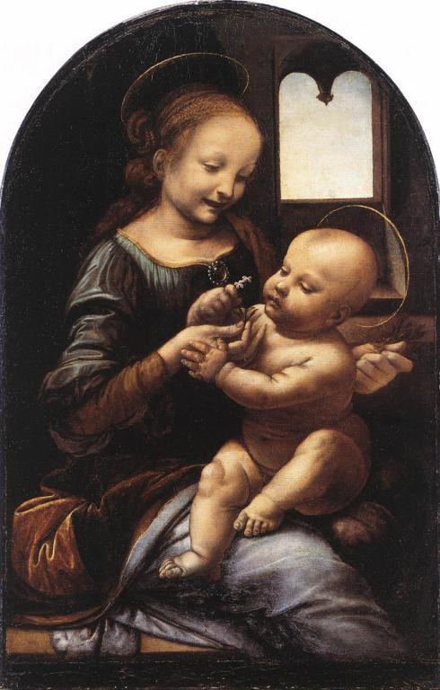 Една от Мадоните на Леонардо Давинчи