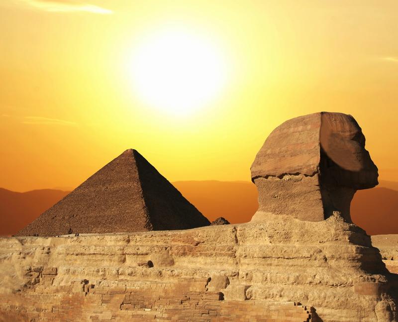 Сфинксът на Египет