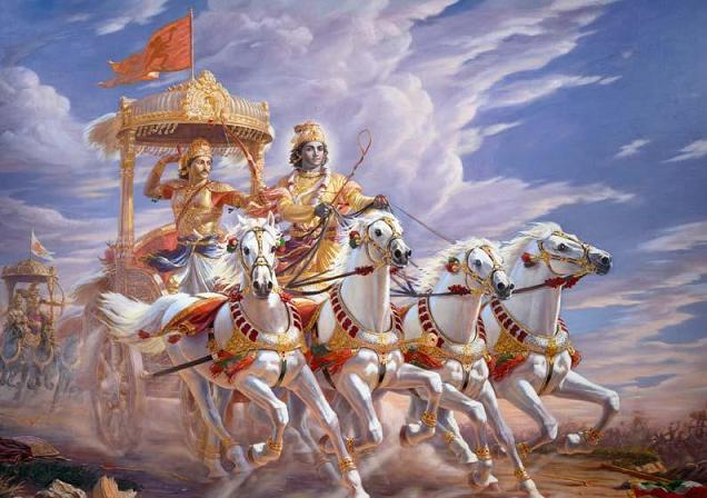 Кришна - из Бхагават Гита