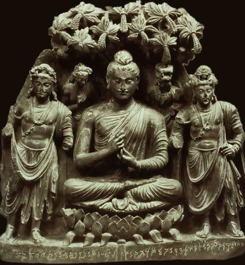 Буда-статуя