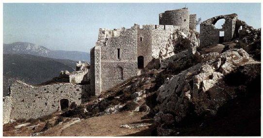 Катарският замък на Peyrepertuse