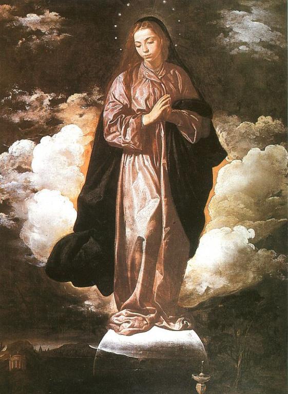 Дева Мария, Веласкес