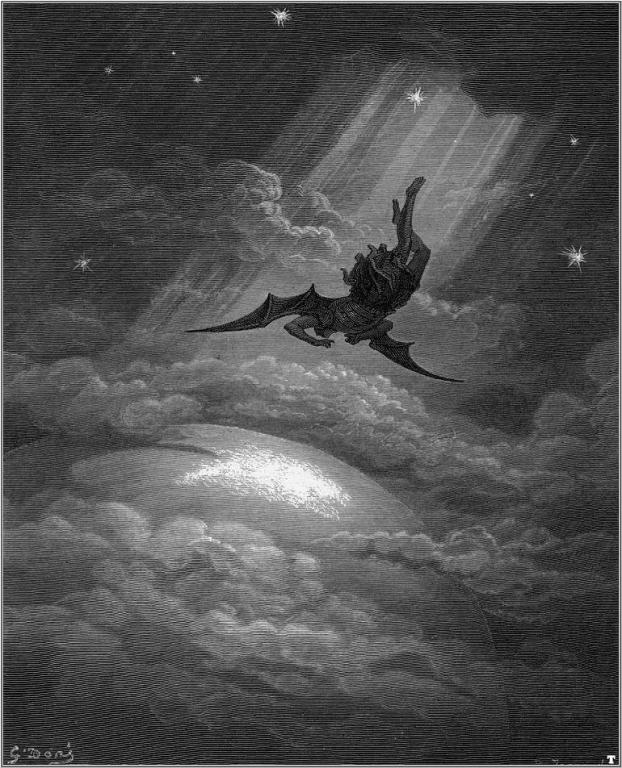 Падането на Луцифер, Густав Доре