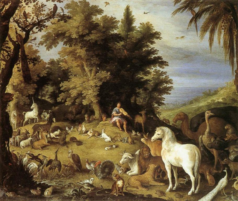 Орфей и неговата музика сред животните