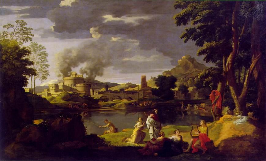 Орфей, хората, Евридика и неговата лира