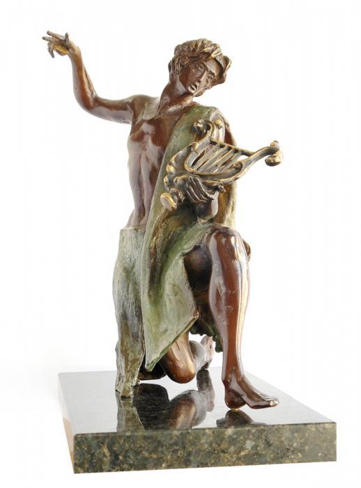 Статуята на Орфей от Любомир Лазаров