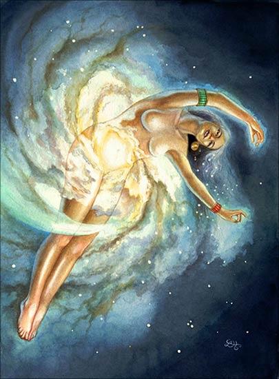 Богиня на Небето и Нощта