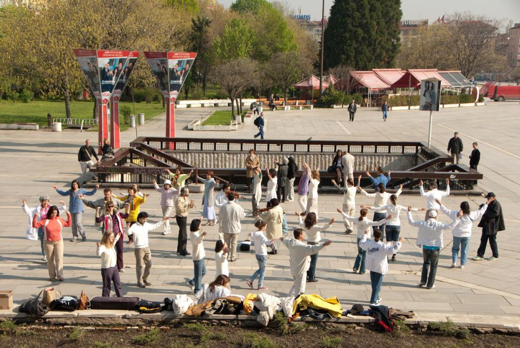 Паневритмия по време на Фестивала на българското образование