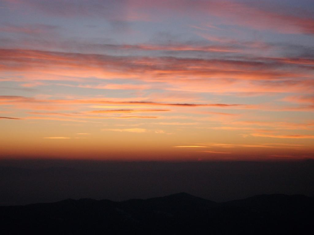 Залез над Витоша