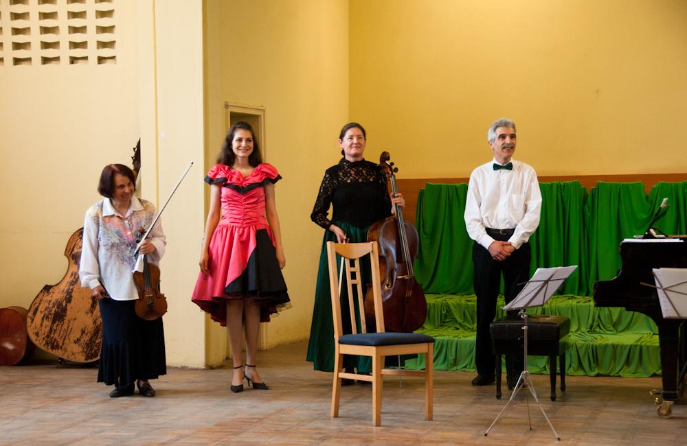 Концерт по случай 100 год. от Завета на цветните лъчи на светлината - 12 май 2012 в Разград
