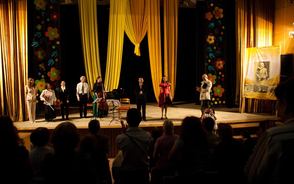 Концерт по случай 100 год. от Завета на цветните лъчи на светлината - 11 май 2012 във Търговище