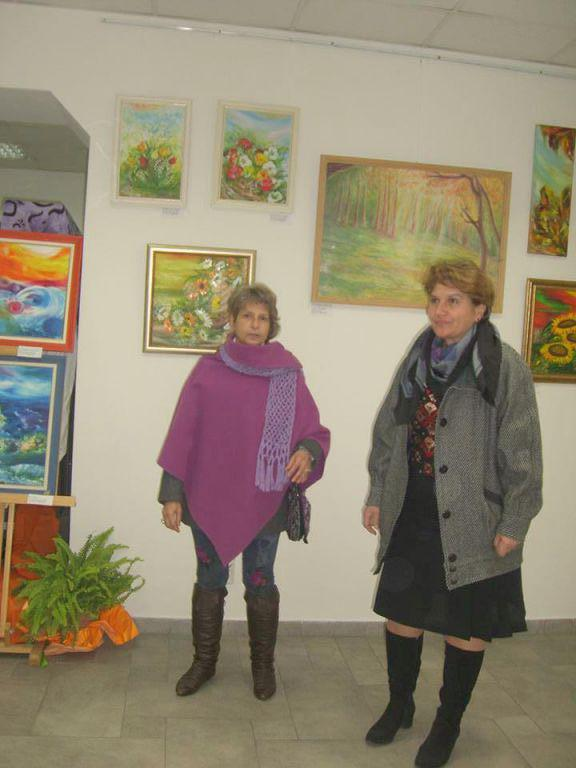 Изложба-живопис  ДУХ И МАТЕРИЯ  6.11.2014 г