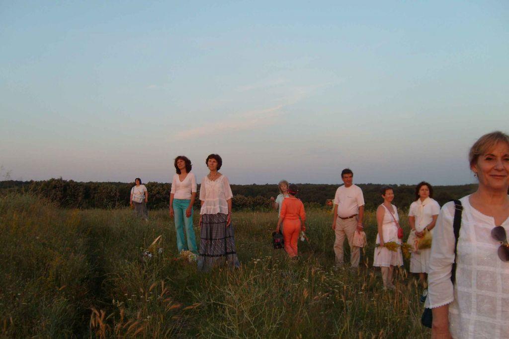 Посрещане на изгрева - Еньовден 2012 г. - Хасково