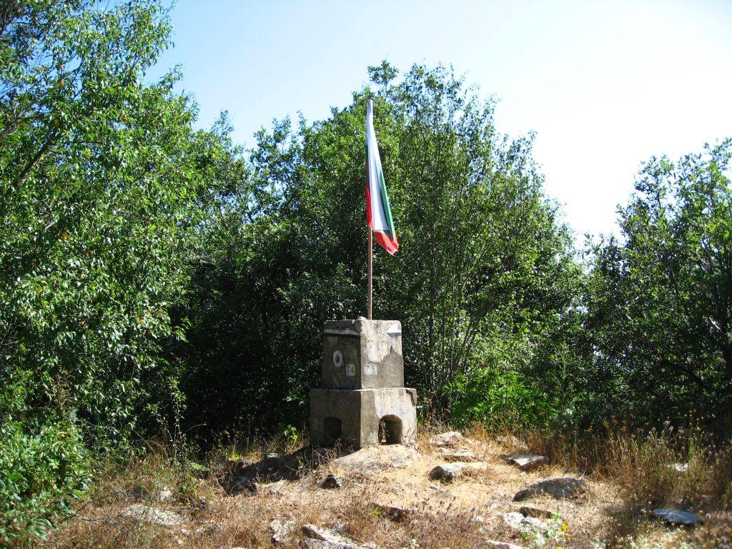 Вторият по височина връх в Странджа -Голямо градище 710 метра (след  Голяма Махиада висок 1031 метра)