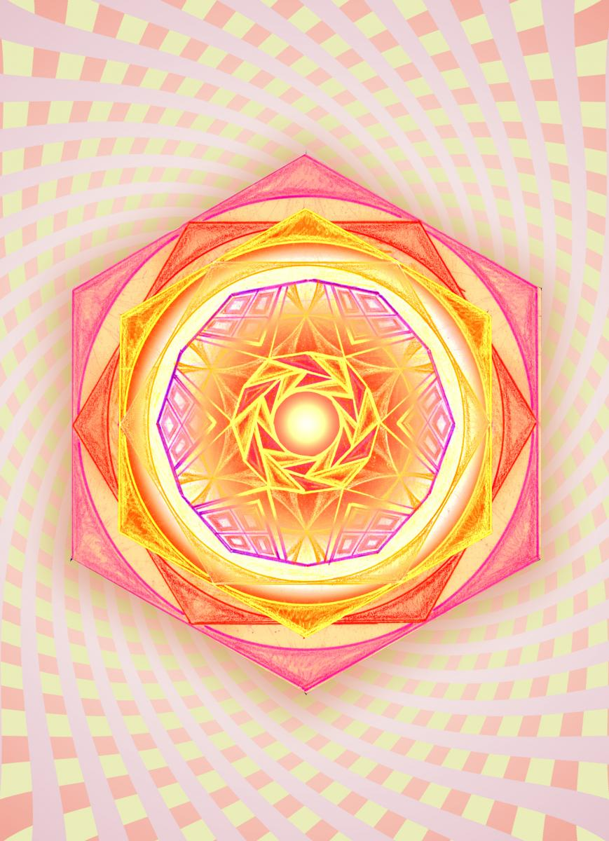 Свещена геометрия, Мандала