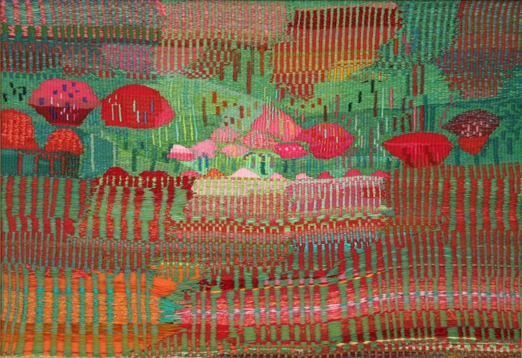 """""""Японска гора"""" - текстилен панел"""