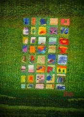 Летни игри на ума - 2 - текстилно пано