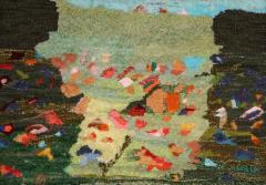 Лятна трева - текстилен панел